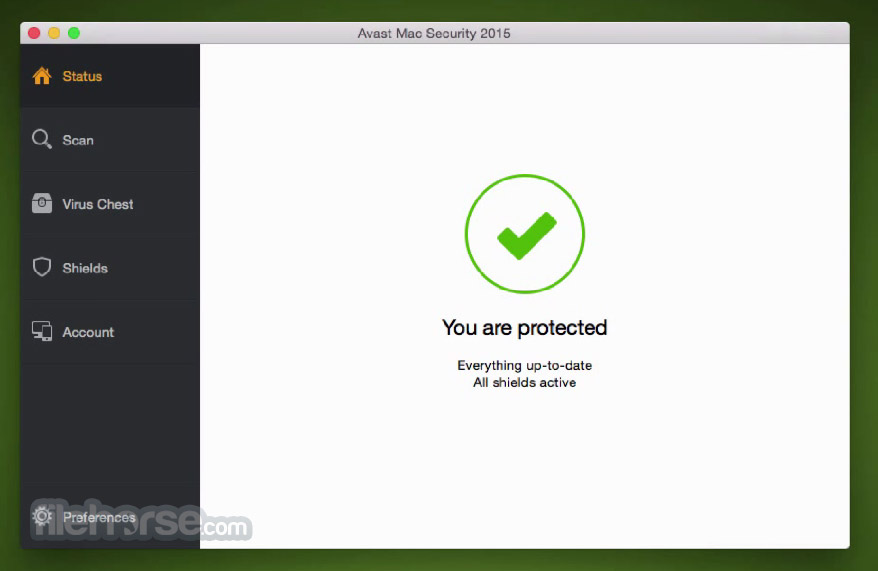 Avast Mac Security 10.12 Build 44207 Screenshot 1