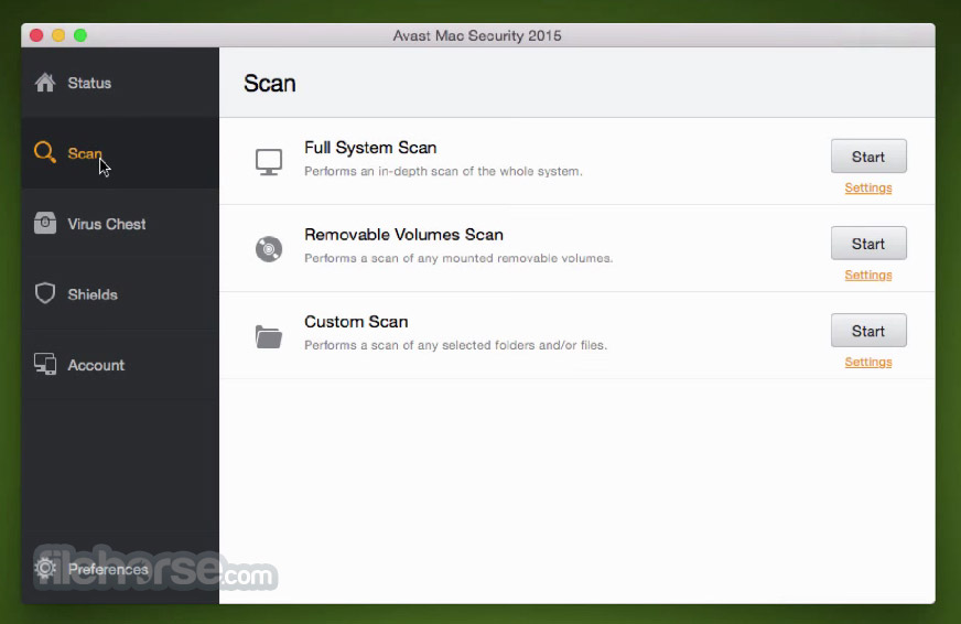 Avast Mac Security 13.4 Screenshot 2