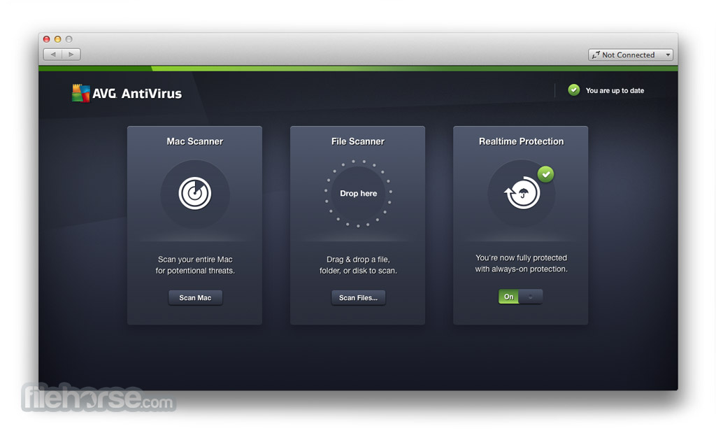 AVG AntiVirus 17.0 Screenshot 1