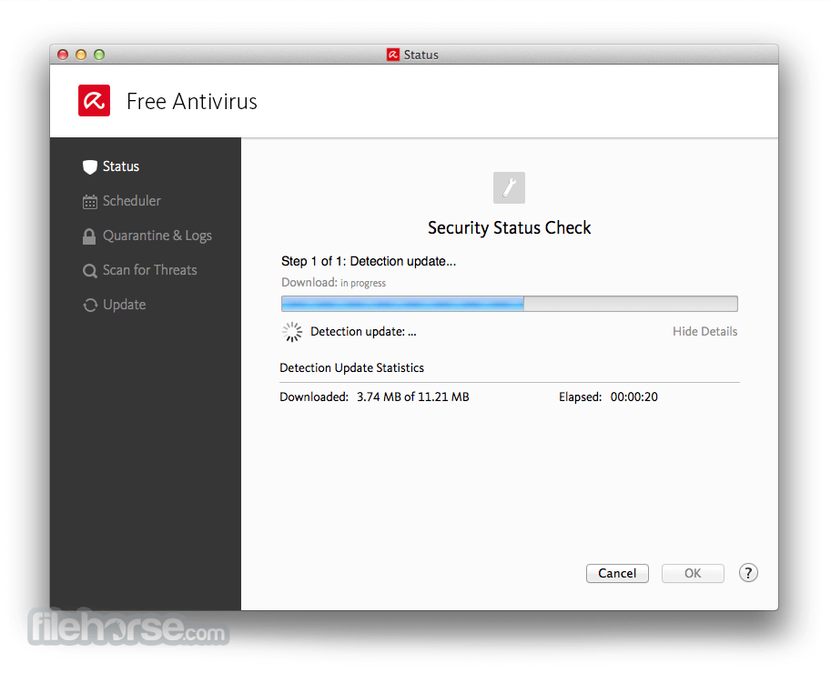 Avira Free Antivirus 3.9.4.55 Screenshot 2