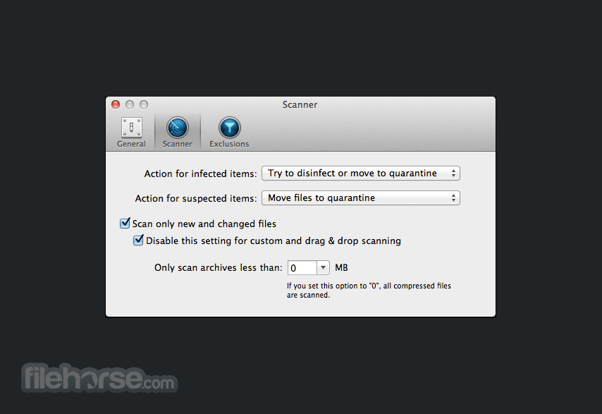 BitDefender Antivirus 1.17.3304 Screenshot 4