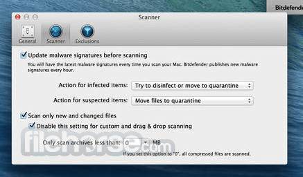 Bitdefender Virus Scanner for Mac - Download (2019 Latest