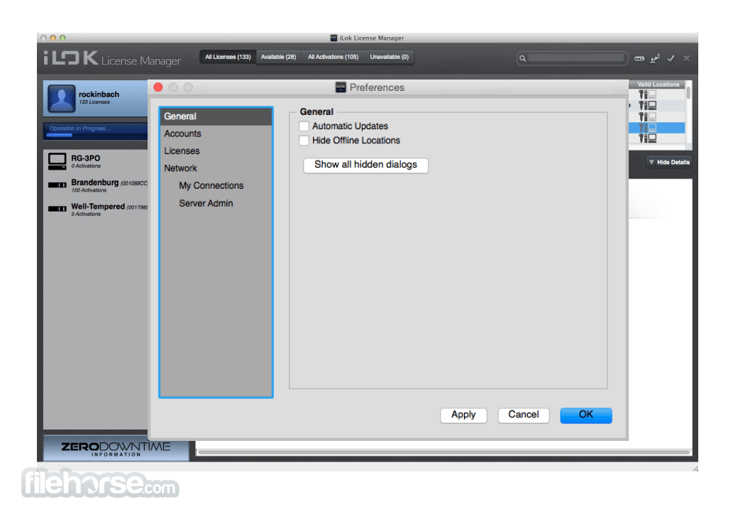 iLok License Manager 5.3.2 Screenshot 3