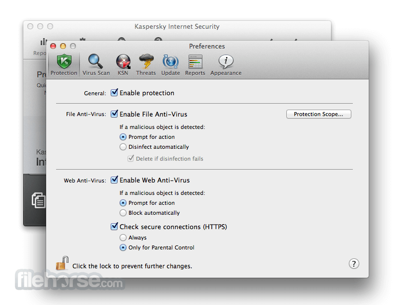 Kaspersky Internet Security for Mac 14.0.1 Screenshot 5