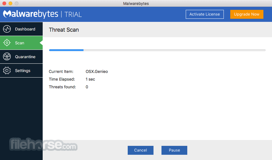 Malwarebytes Anti-Malware 3.3.32.1398 Screenshot 1