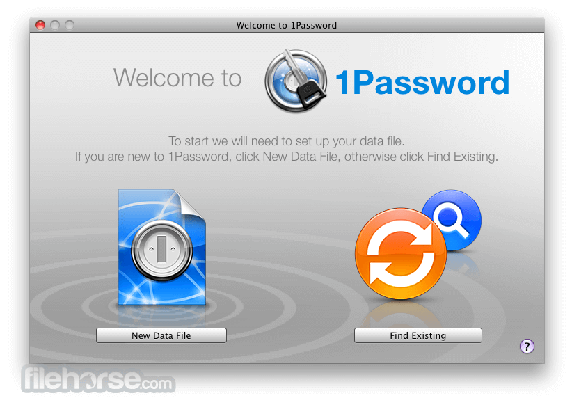 1Password 5.1 Screenshot 1