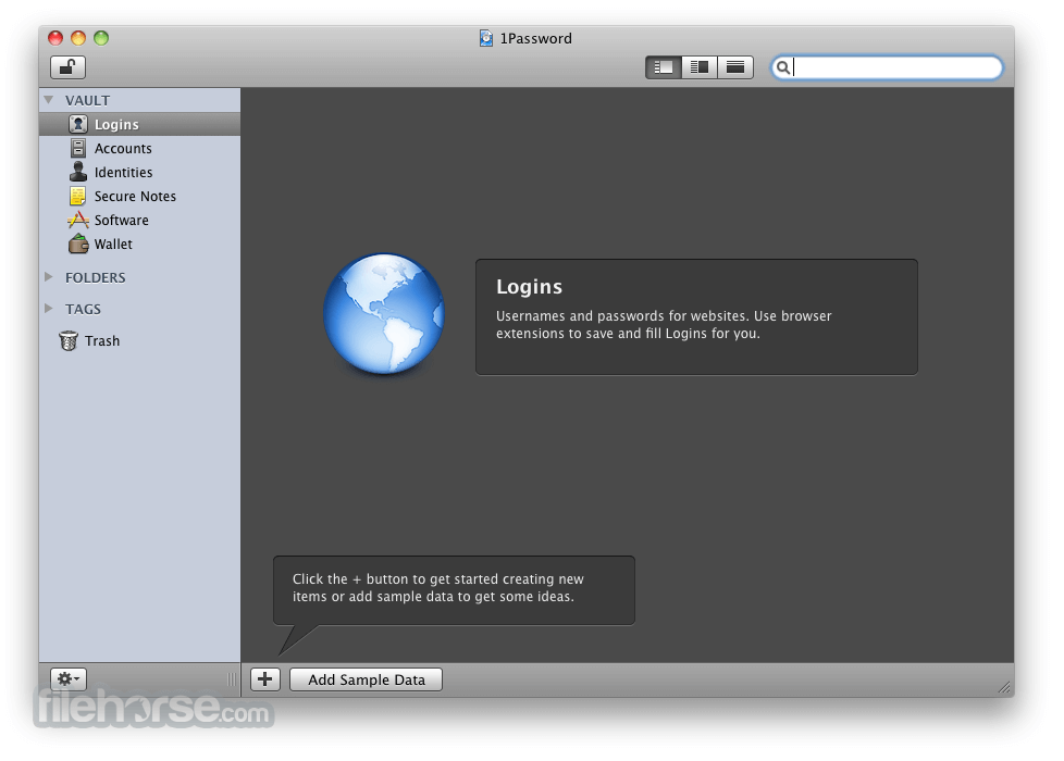 1Password 6.2 Screenshot 5