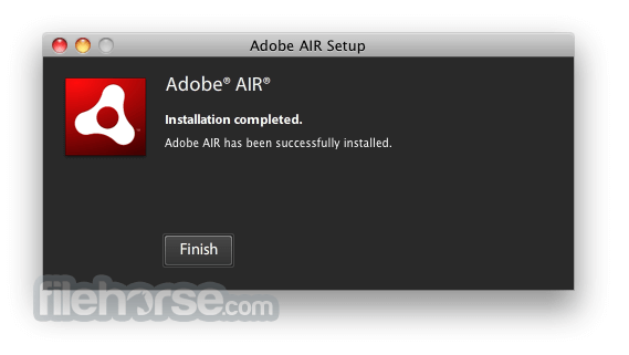 Adobe AIR 3.3.0.3650 Screenshot 2