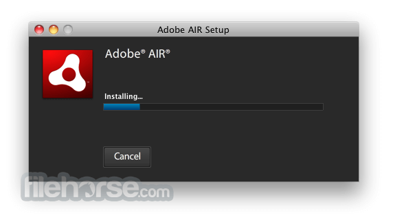Adobe AIR 3.5.0.600 Screenshot 3