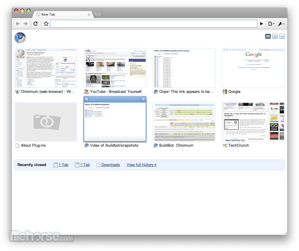 Chromium 83.0.4103.106 Screenshot 1