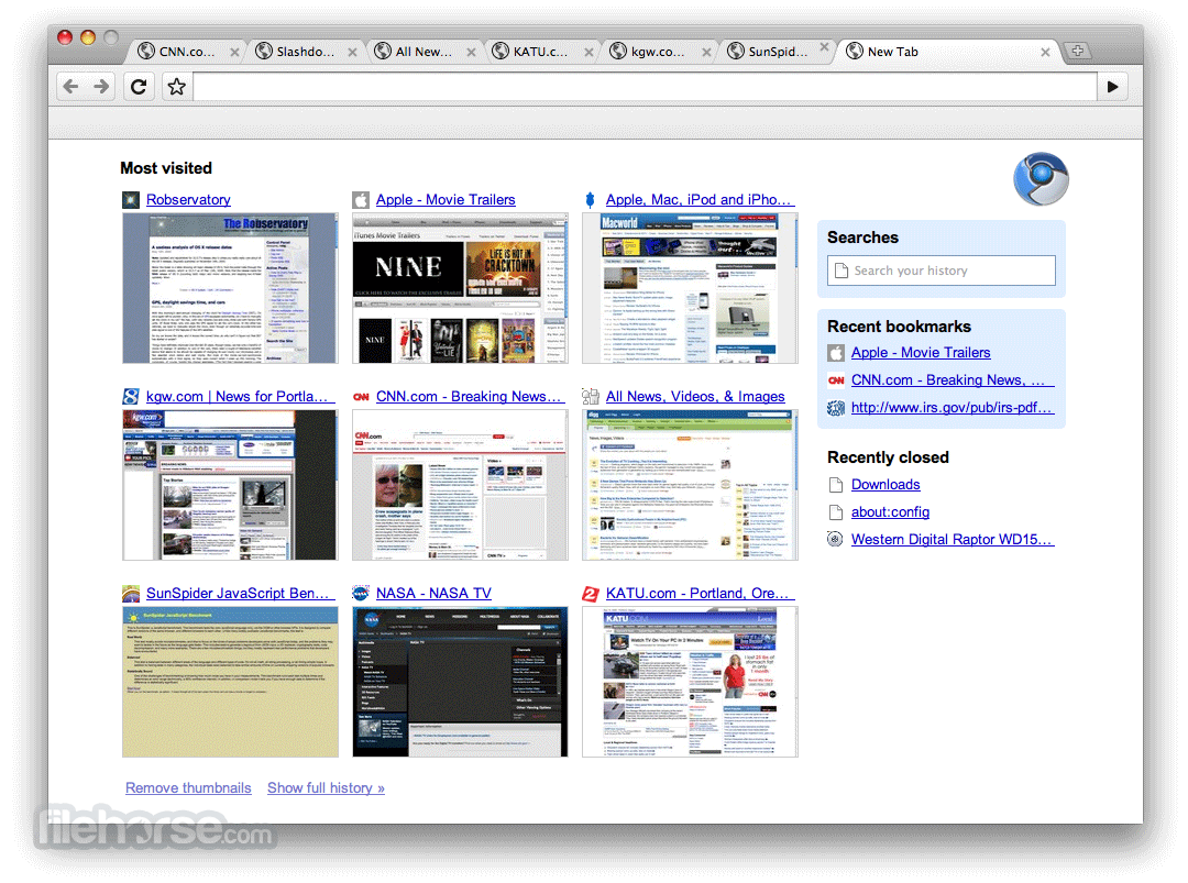 Chromium 83.0.4103.106 Screenshot 2