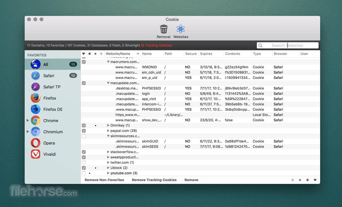 Cookie 6.3.6 Screenshot 1