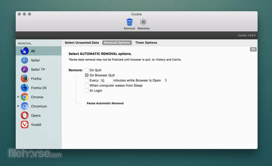 Cookie 6.3.6 Screenshot 3