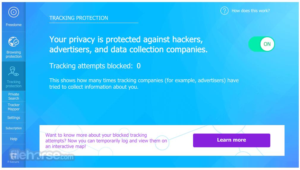 F-Secure Freedome VPN 2.36.6555.0 Screenshot 4