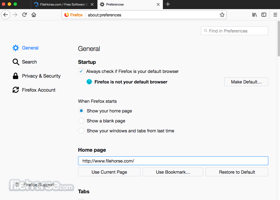 Firefox 41.0.1 Screenshot 5