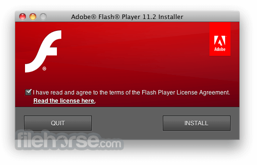 Flash Player 18.0.0.209 Screenshot 1