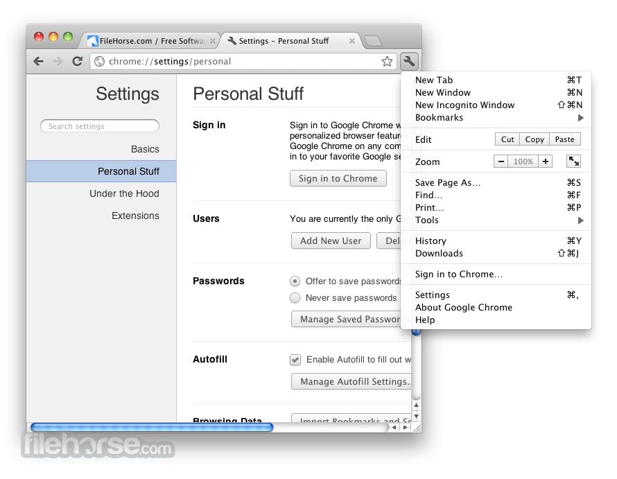 Google Chrome 62.0.3202.62 Screenshot 3