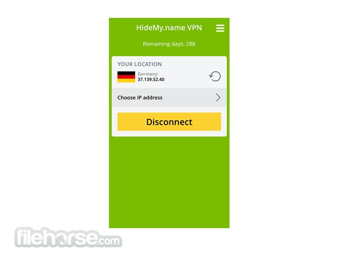 HideMy.name 1.3.0 Screenshot 2
