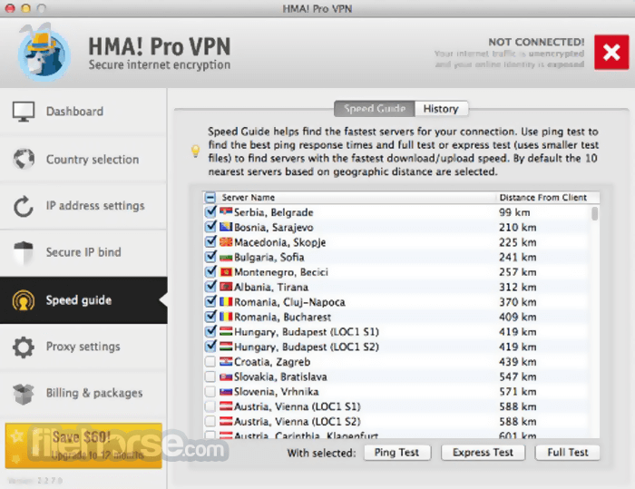hma pro vpn derniere version