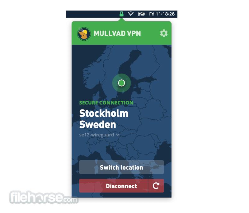 Mullvad VPN 2021.3 Screenshot 1
