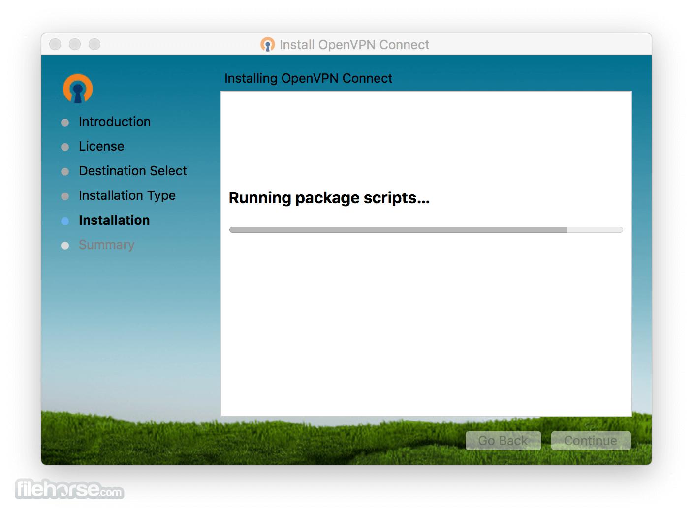 OpenVPN 2.4.9 Captura de Pantalla 4