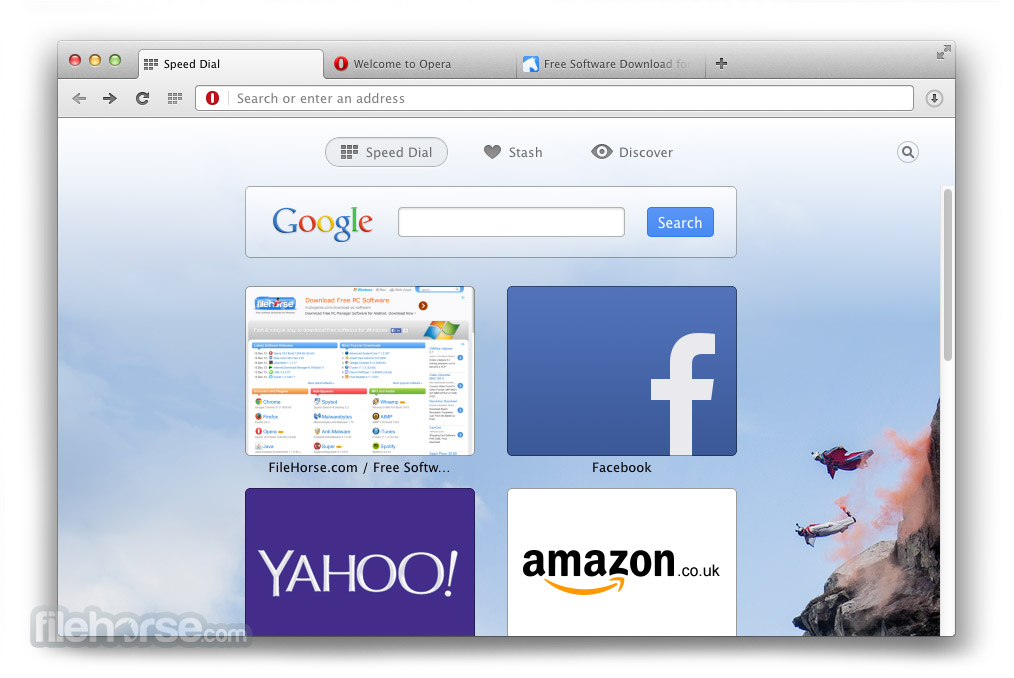 Opera 9.50 Screenshot 3