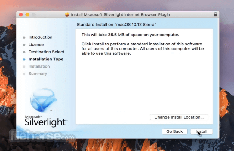 Silverlight 5.1.41105.0 Screenshot 3