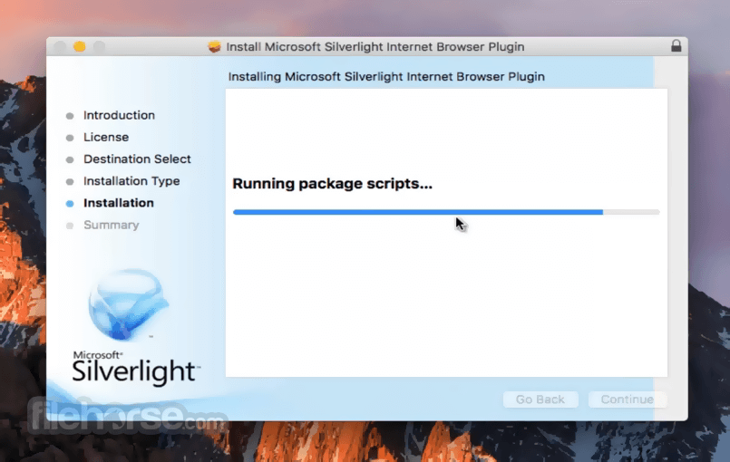 video silverlight mac