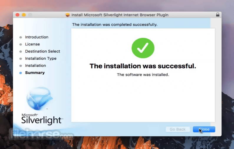 Silverlight 5.1.41105.0 Screenshot 5