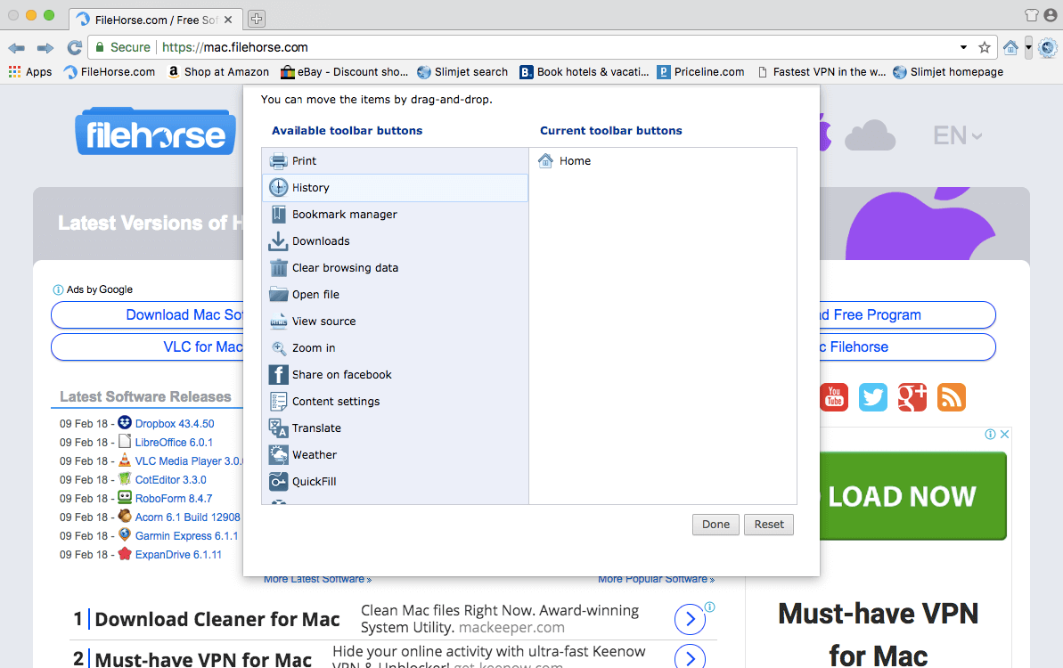 Slimjet 27.0.7 Screenshot 3