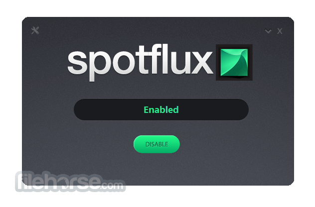 Spotflux 2.11.2 Screenshot 1