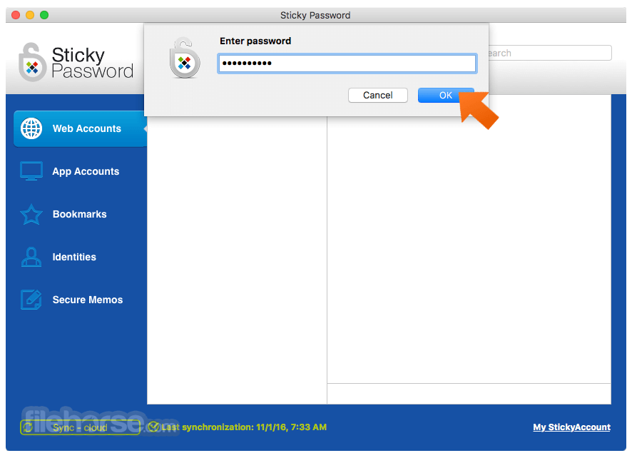 Sticky Password 8.3.1 Build 2826 Captura de Pantalla 2
