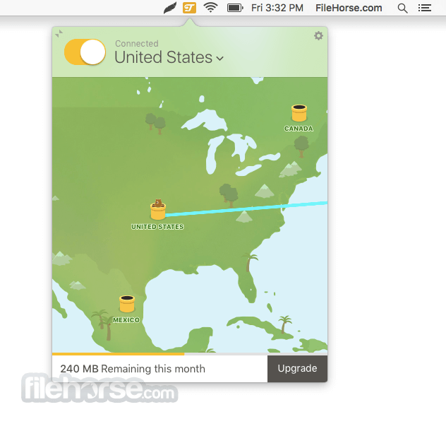 TunnelBear 2.1 Screenshot 3