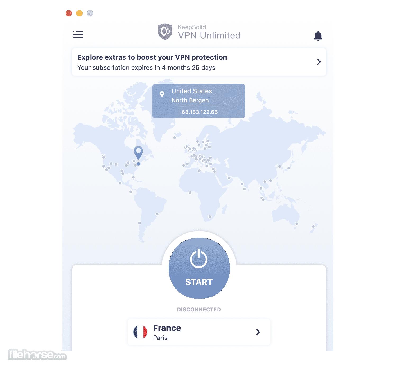VPN Unlimited 8.3.3 Screenshot 1