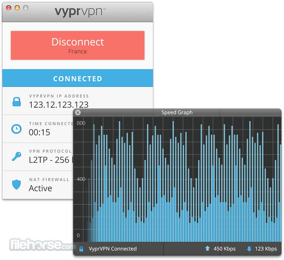 VyprVPN 3.3.1 Screenshot 1