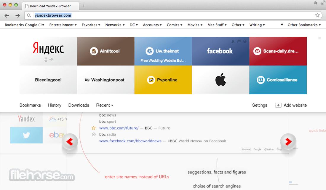 Yandex Browser 19.4.0 Screenshot 3