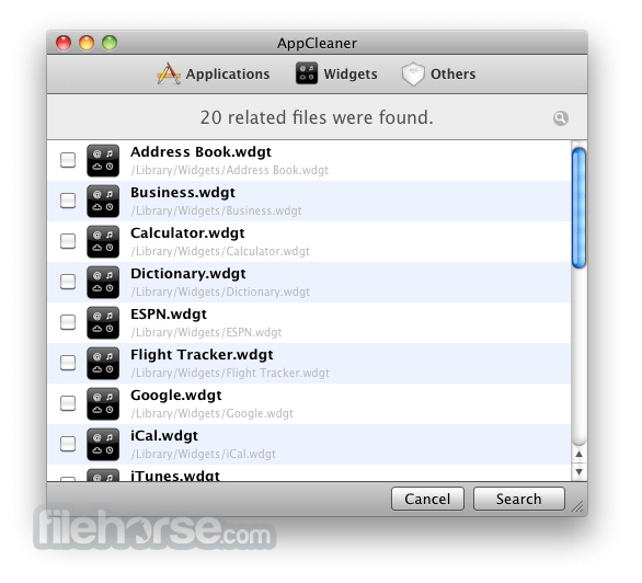 AppCleaner 3.5.1 Screenshot 3