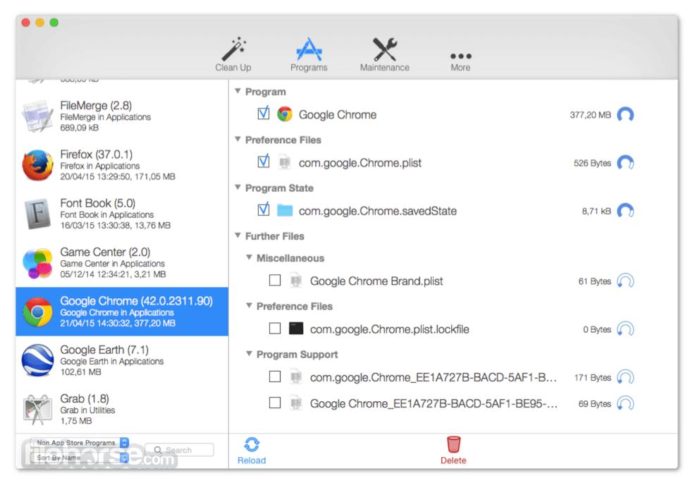CleanApp 5.1.3 Screenshot 2