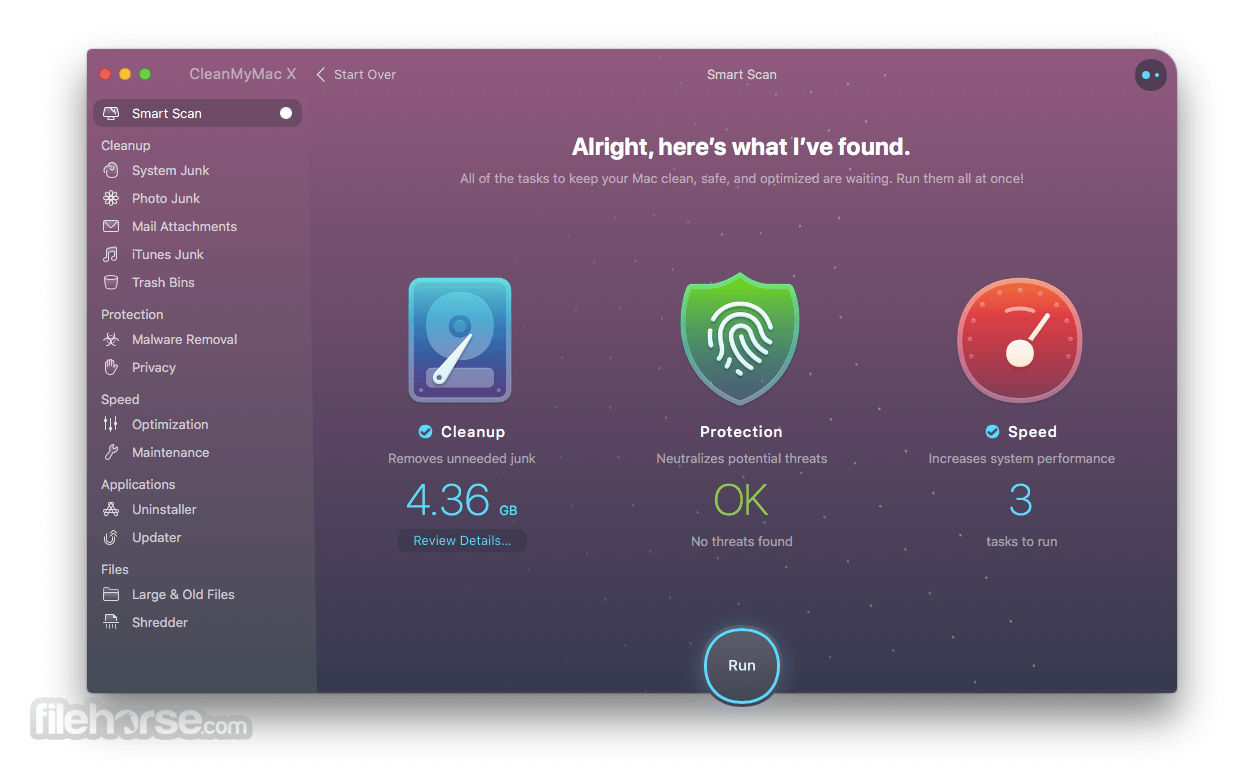 CleanMyMac 3.9.6 Screenshot 2