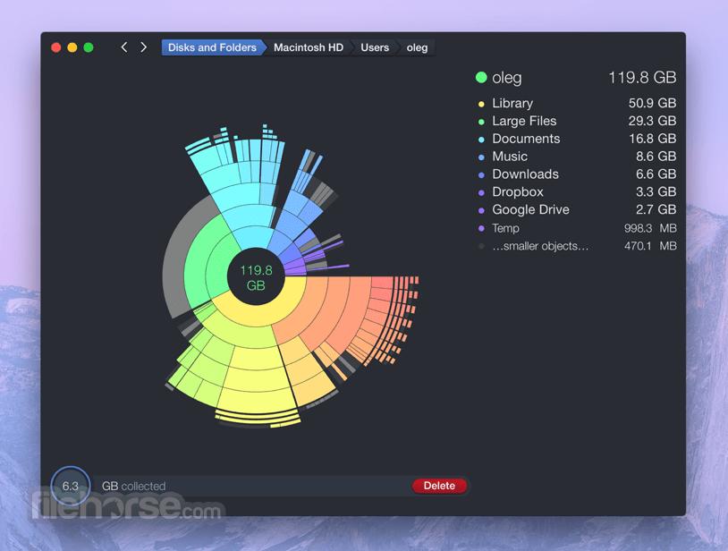 DaisyDisk 4.12.1 Captura de Pantalla 1