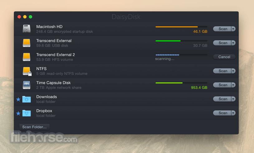 DaisyDisk 4.12.1 Screenshot 2