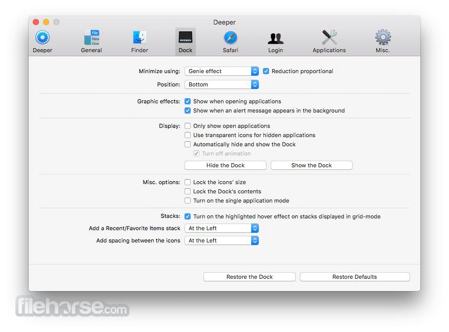 Deeper 2.2.7 Screenshot 2