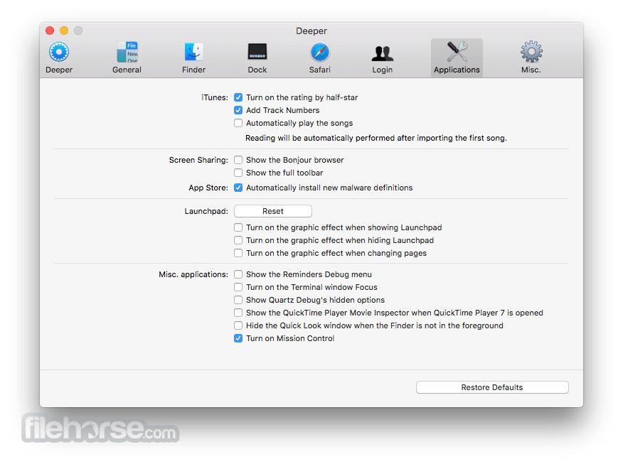 Deeper 2.2.7 Screenshot 3