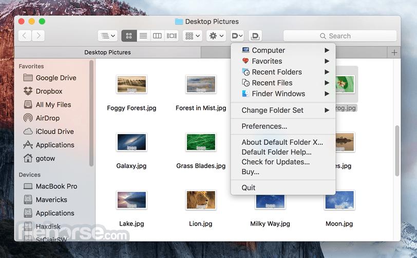 Default Folder X 5.4.6 Screenshot 2