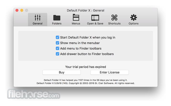 Default Folder X 5.4.6 Screenshot 4