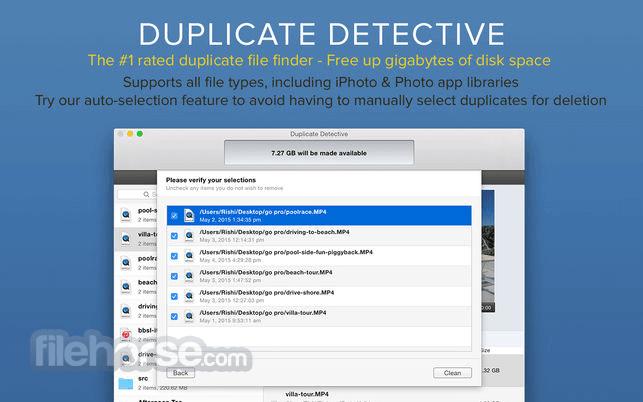 Duplicate Detective 1.99.1 Captura de Pantalla 1