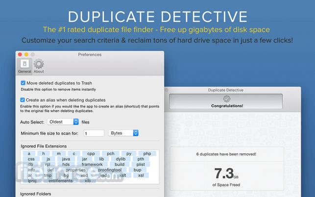 Duplicate Detective 1.99.1 Captura de Pantalla 3