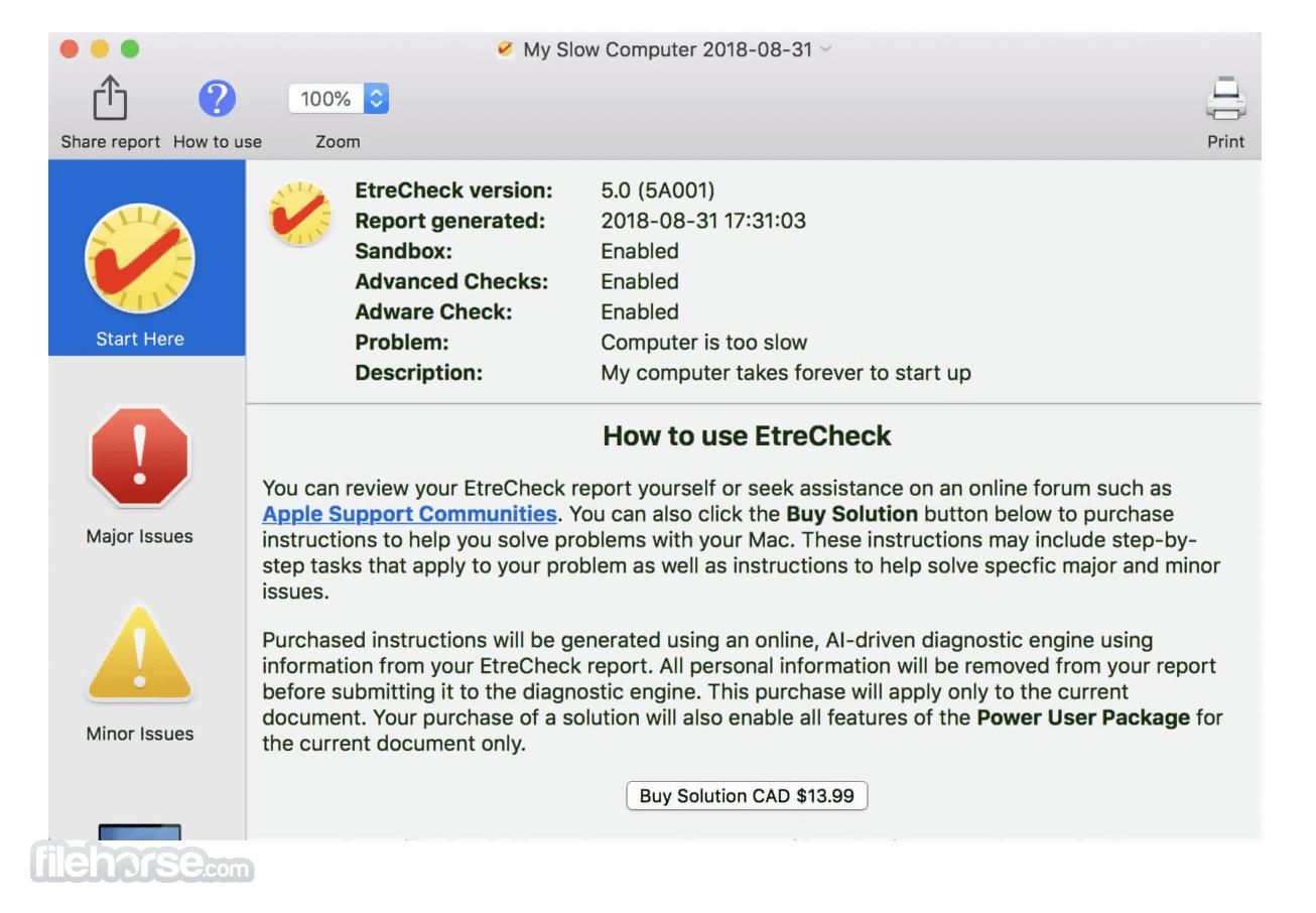 EtreCheck Pro 6.3.6 Screenshot 2
