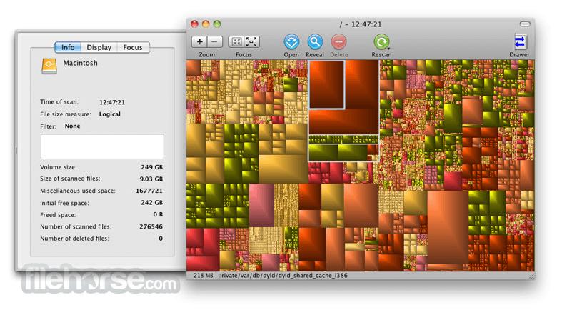GrandPerspective 1.5.1 Screenshot 3