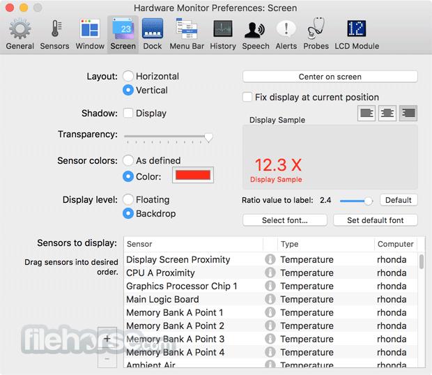 Hardware Monitor 5.6 Build 190617 Captura de Pantalla 4